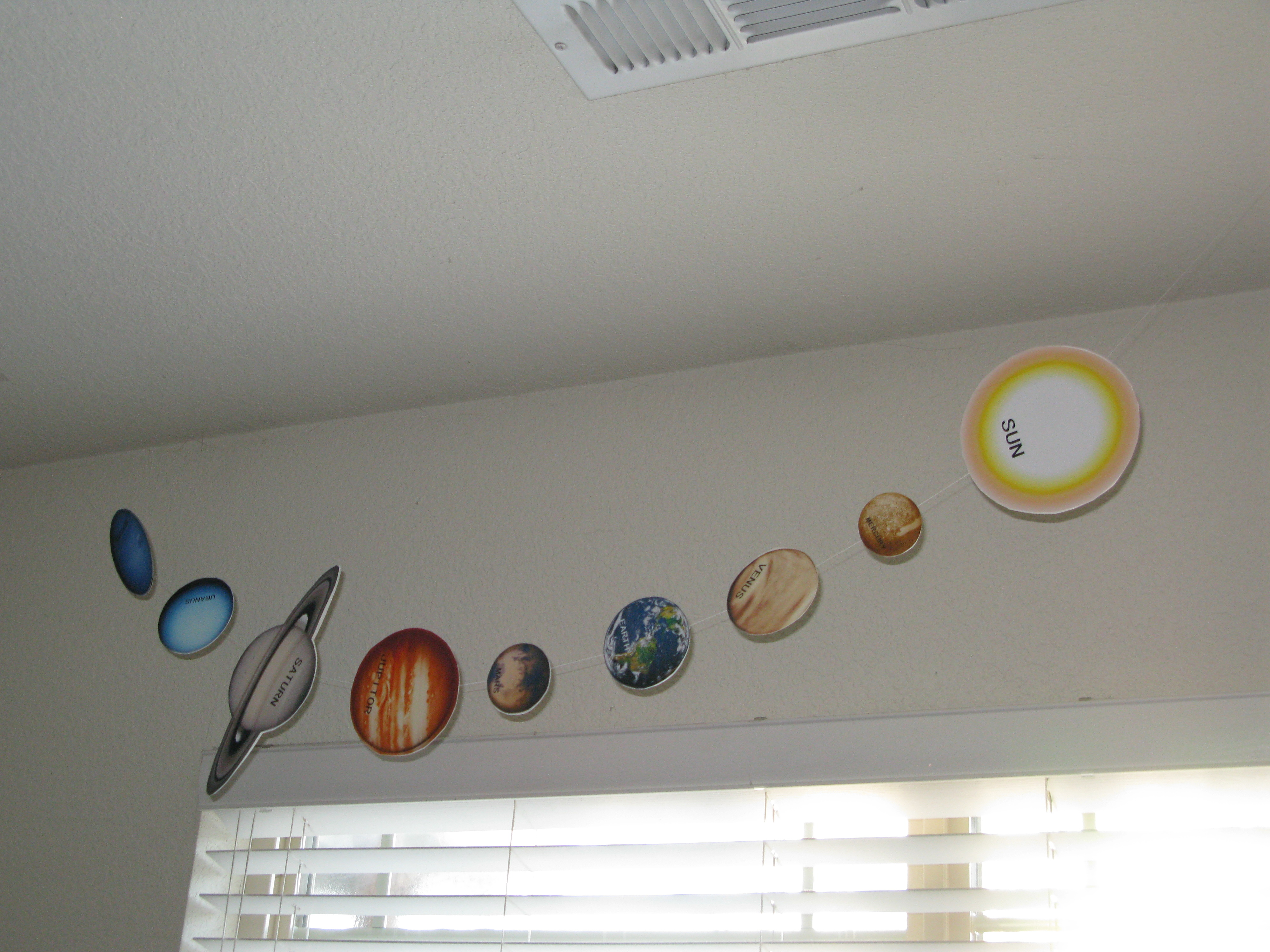 Planets Mobile Print Outs - Pics about space